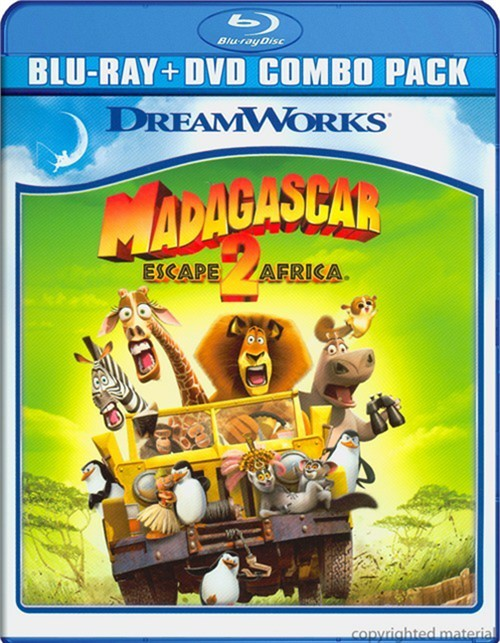 Madagascar: Escape 2 Africa (Blu-ray + DVD Combo)