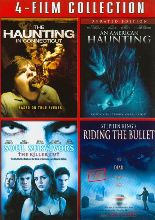 Haunting In Connecticut, The / An American Haunting / Soul Survivors: The Killer Cut / Stephen Kings Riding The Bullet (4-Film Collection)
