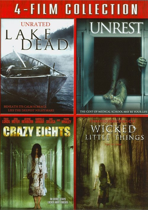 Lake Dead / Unrest / Crazy Eights / Wicked Little Things (4-Film Collection)