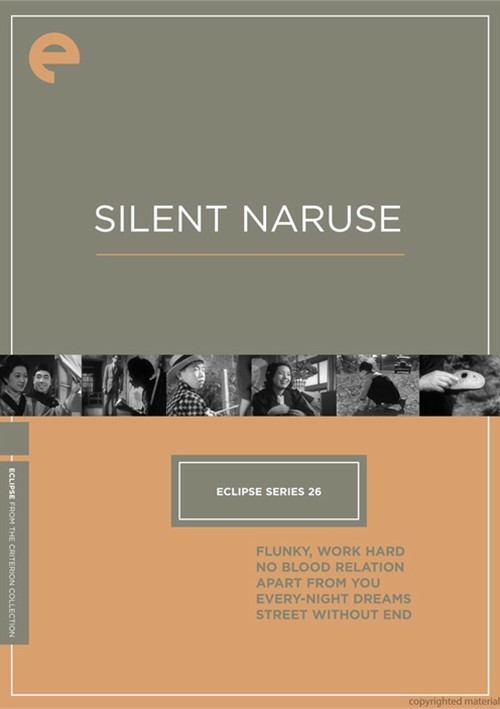 Silent Naruse: Eclipse From The Criterion Collection