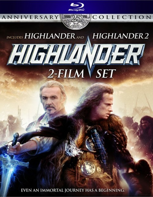 Highlander: The 25th Anniversary Collection - 2 Film Set