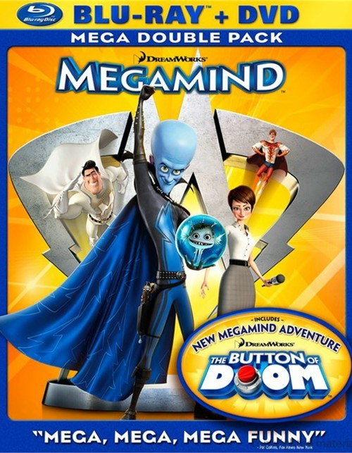 Megamind (Blu-ray + DVD Combo)