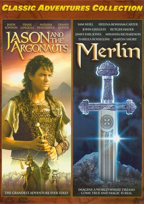 Jason And The Argonauts / Merlin (Double Feature)
