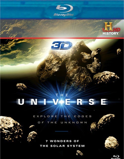 Universe, The: 7 Wonders Of The Solar System (Blu-ray 3D)