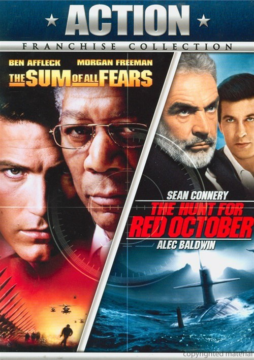Hunt For Red October, The / The Sum Of All Fears (Double Feature)