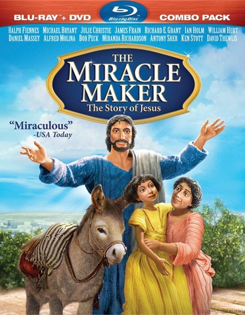 Miracle Maker, The: The Story Of Jesus (Blu-ray + DVD Combo)