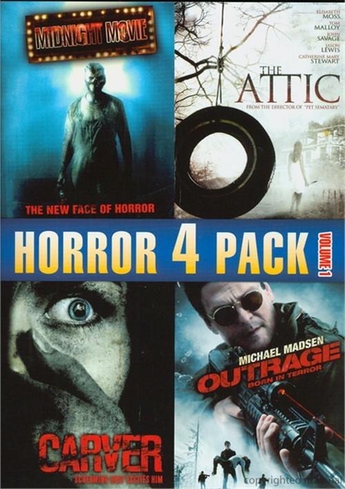 Horror 4 Pack: Volume 1