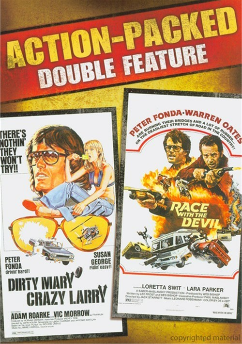 Dirty Mary, Crazy Larry / Race With The Devil (Double Feature)