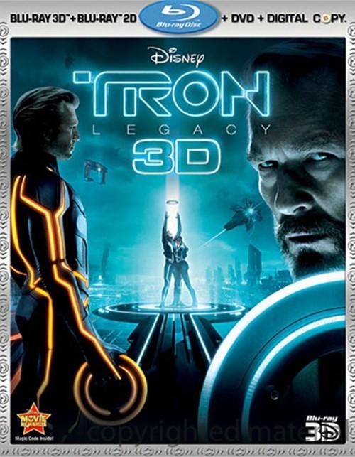 Tron: Legacy 3D (Blu-ray 3D +Blu-ray + DVD + Digital Copy)