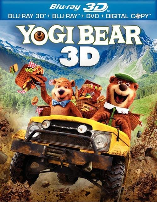 Yogi Bear 3D (Blu-ray 3D + Blu-ray + DVD + Digital Copy)