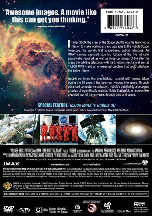 IMAX: Hubble (DVD 2010) | DVD Empire