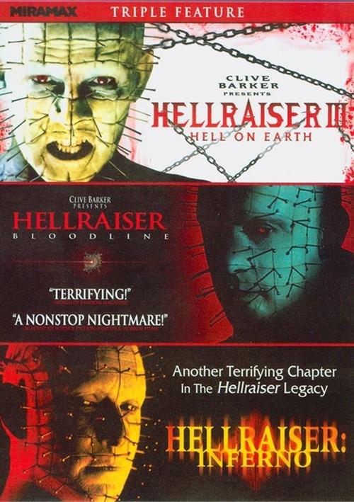 Hellraiser Triple Feature