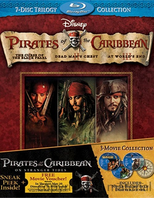 Pirates Of The Caribbean: 7-Disc Trilogy Collection