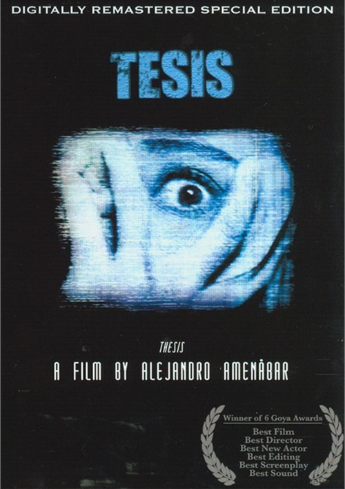 thesis amenabar review Amenábar's regression: bland, dull creeps & cults alejandro amenábar's first feature thesis blew me away later, a different sort of film.
