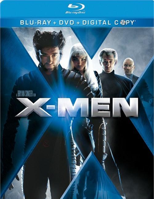 X-Men (Blu-ray + DVD + Digital Copy)