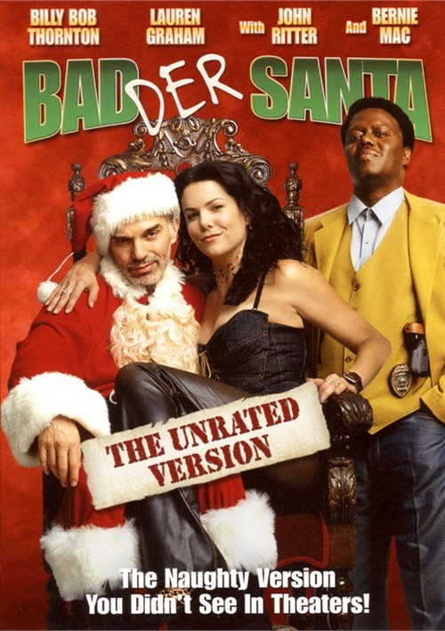 Badder Santa: Unrated (DVD 2003)