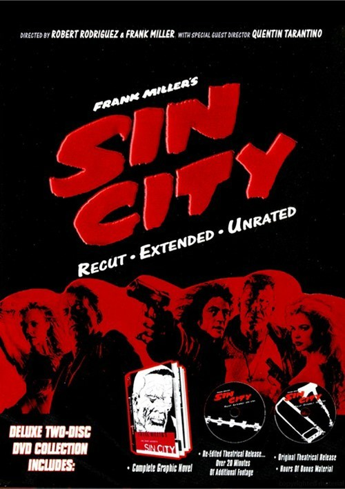 Sin City: Unrated, Recut & Extended
