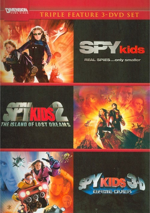Spy Kids / Spy Kids 2: The Island Of Lost Dreams / Spy Kids 3: Game Over (Triple Feature)