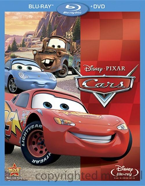 Cars (Blu-ray + DVD Combo)