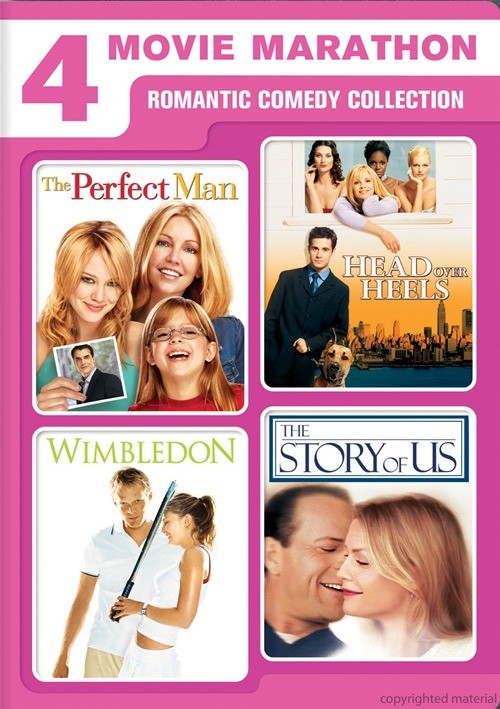 Perfect Man, The / Head Over Heels / Wimbledon / The Story Of Us (4 Movie Marathon)