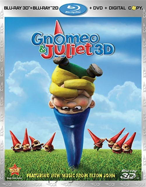 Gnomeo & Juliet 3D (Blu-ray 3D + Blu-ray + DVD+ Digital Copy)