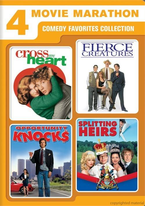 Cross My Heart / Fierce Creatures / Opportunity Knocks / Splitting Heirs (4 Movie Marathon)