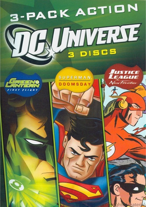 DC Universe (3 Pack)