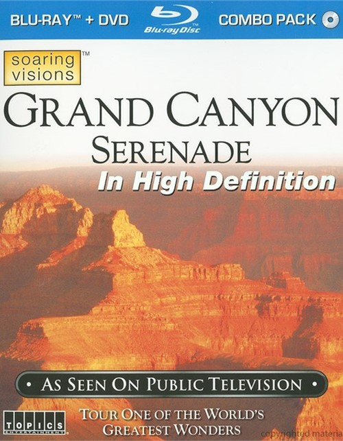 Grand Canyon Serenade (Blu-ray + DVD Combo)