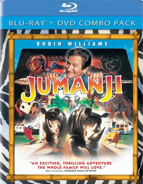 Jumanji (Blu-ray + DVD Combo)