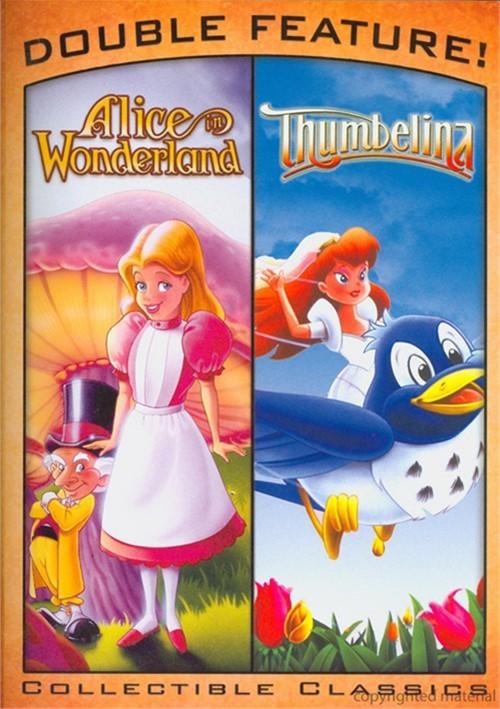 Alice In Wonderland & Thumbelina (Double Feature)