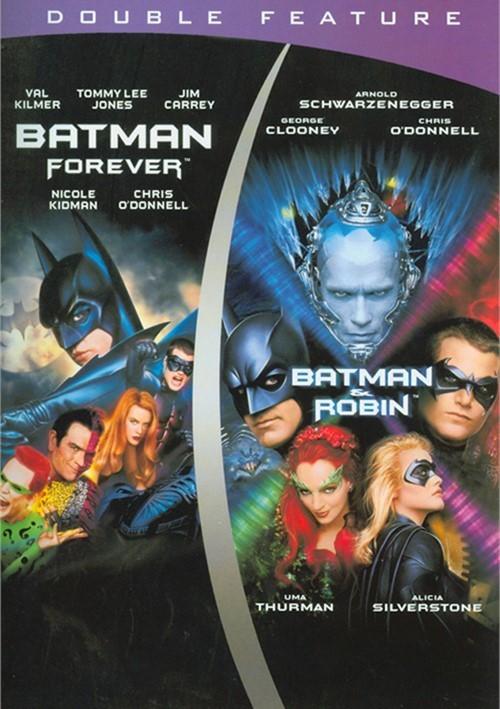 Batman Forever / Batman & Robin (Double Feature)