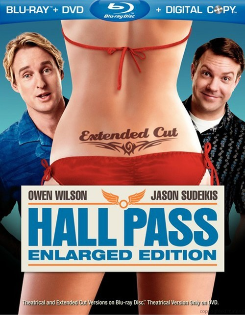 Hall Pass: Enlarged Edition (Blu-ray + DVD + Digital Copy)