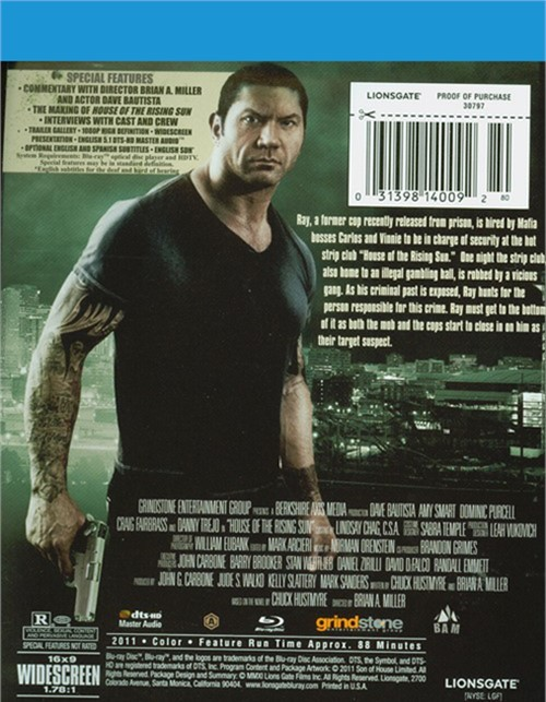 House Of The Rising Sun Blu Ray 2011 Dvd Empire