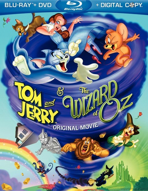 Tom And Jerry & The Wizard Of Oz (Blu-ray + DVD + Digital Copy)