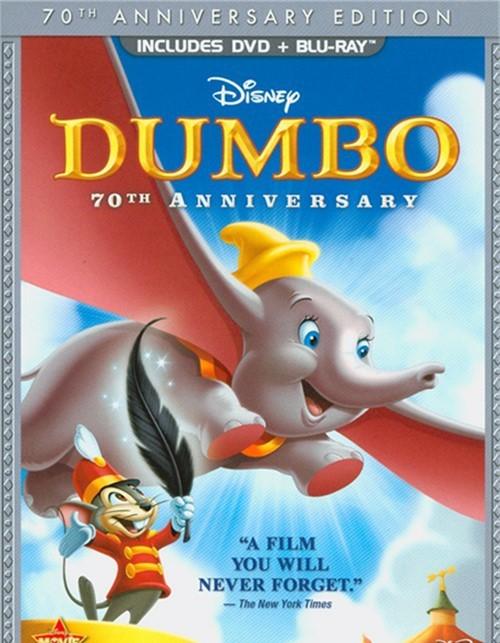 Dumbo: 70th Anniversary Edition (DVD + Blu-Ray)