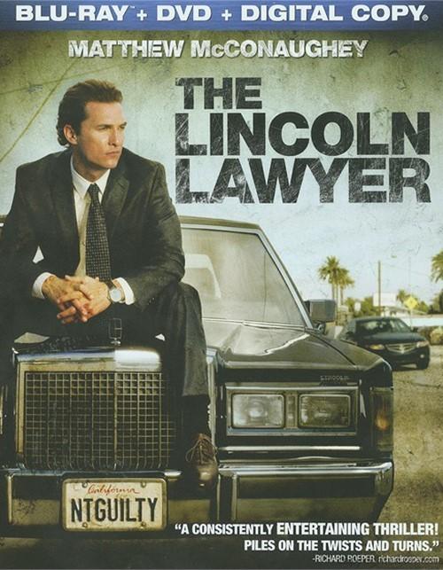 Lincoln Lawyer, The (Blu-ray + DVD + Digital Copy)
