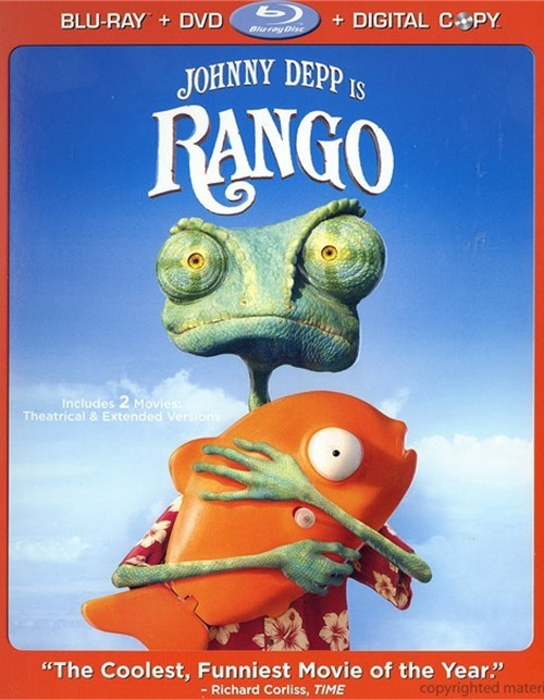 Rango (Blu-ray + DVD + Digital Copy)