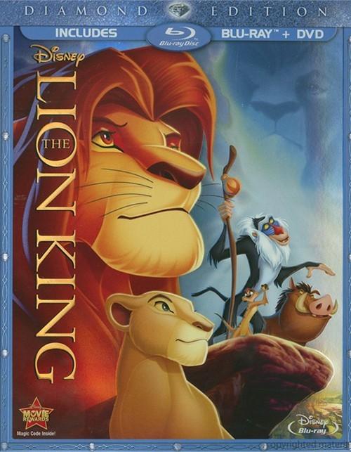 Lion King, The: Diamond Edition (Blu-ray + DVD Combo)