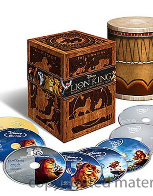 Lion King, The: Special Edition Trilogy Gift Set (Blu-ray 3D + Blu-ray + DVD + Digital Copy)