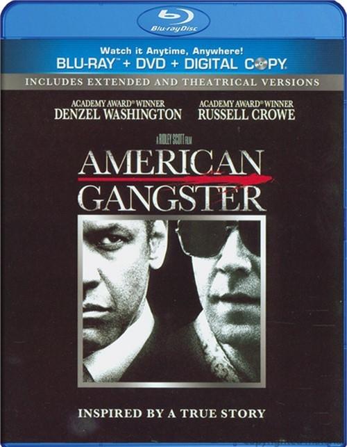 American Gangster (Blu-ray + DVD + Digital Copy)