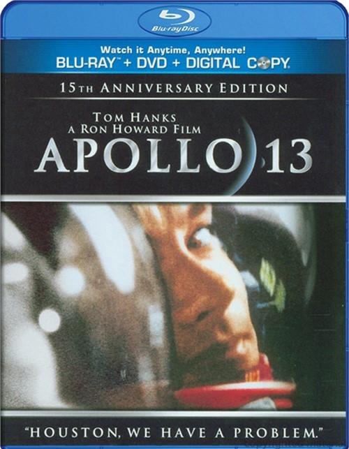 Apollo 13 (Blu-ray + DVD + Digital Copy)