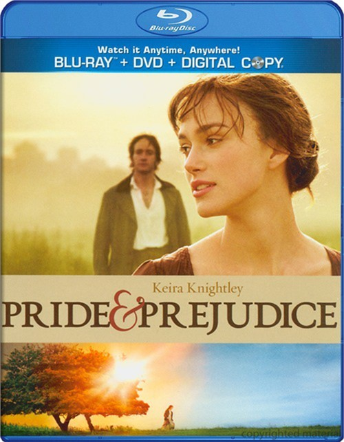 Pride & Prejudice (Blu-ray + DVD + Digital Copy)