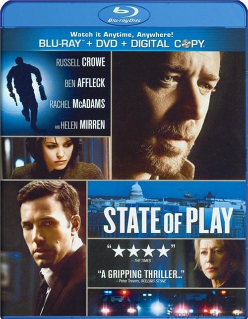 State Of Play (Blu-ray + DVD + Digital Copy)