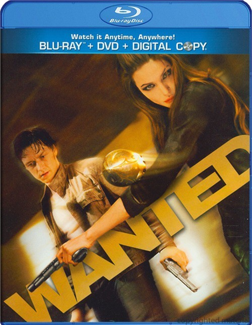 Wanted (Blu-ray + DVD + Digital Copy)