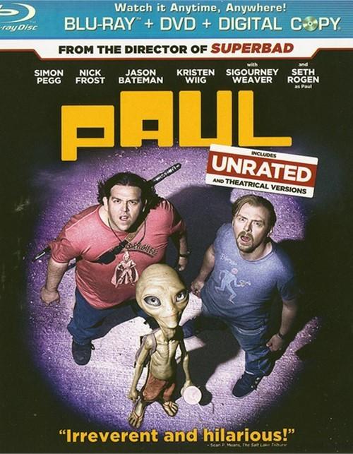 Paul (Blu-ray + DVD + Digital Copy)