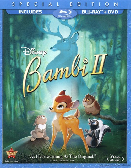 Bambi II: Special Edition (Blu-ray + DVD Combo)