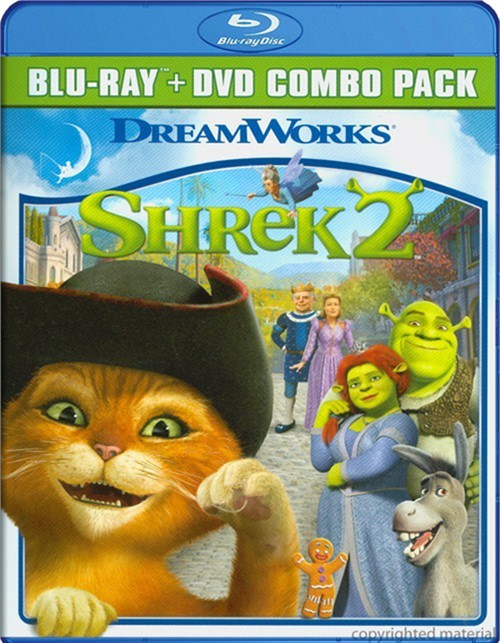 Shrek 2 (Blu-ray + DVD Combo)