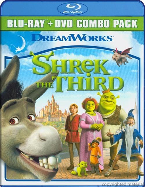 Shrek The Third (Blu-ray + DVD Combo)