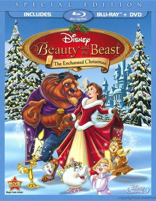Beauty And The Beast: The Enchanted Christmas Special Edition (Blu-ray + DVD Combo)