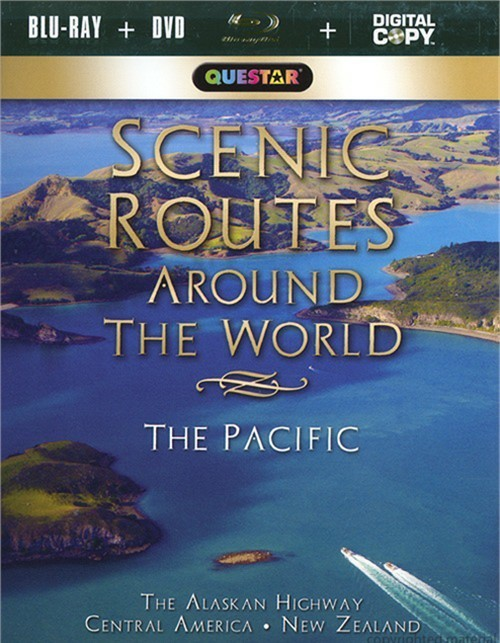 Scenic Routes Around The World: The Pacific (Blu-ray + DVD + Digital Copy)